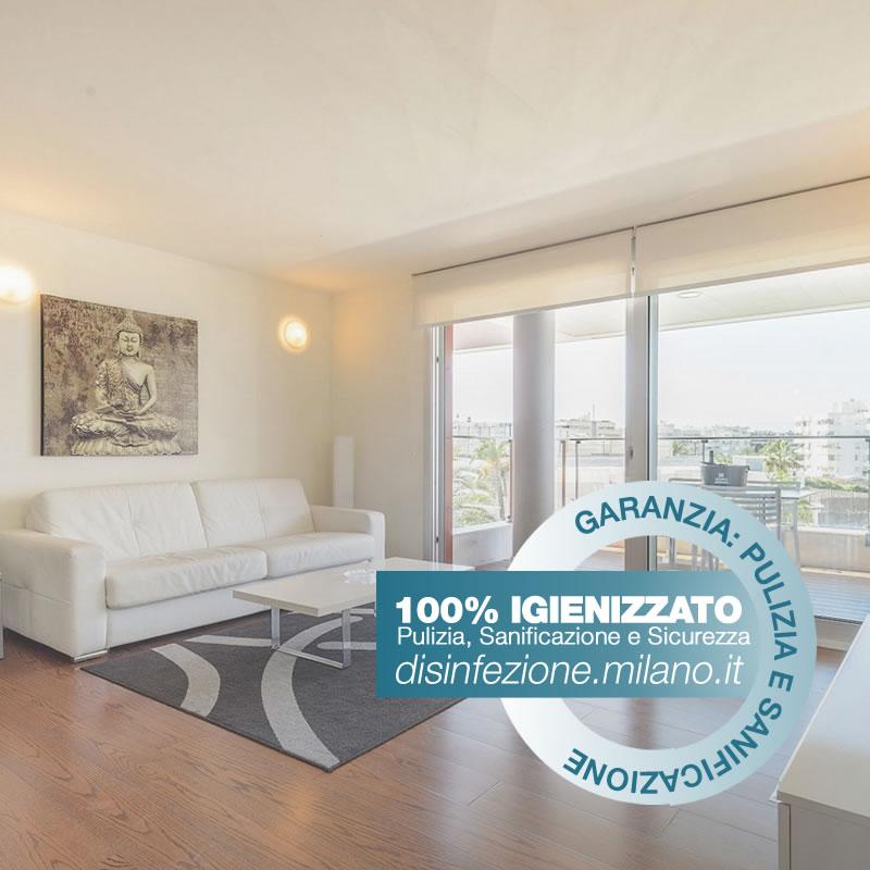 Igienizzazione ed Igienizzazione  APPARTAMENTO Conciliazione Milano