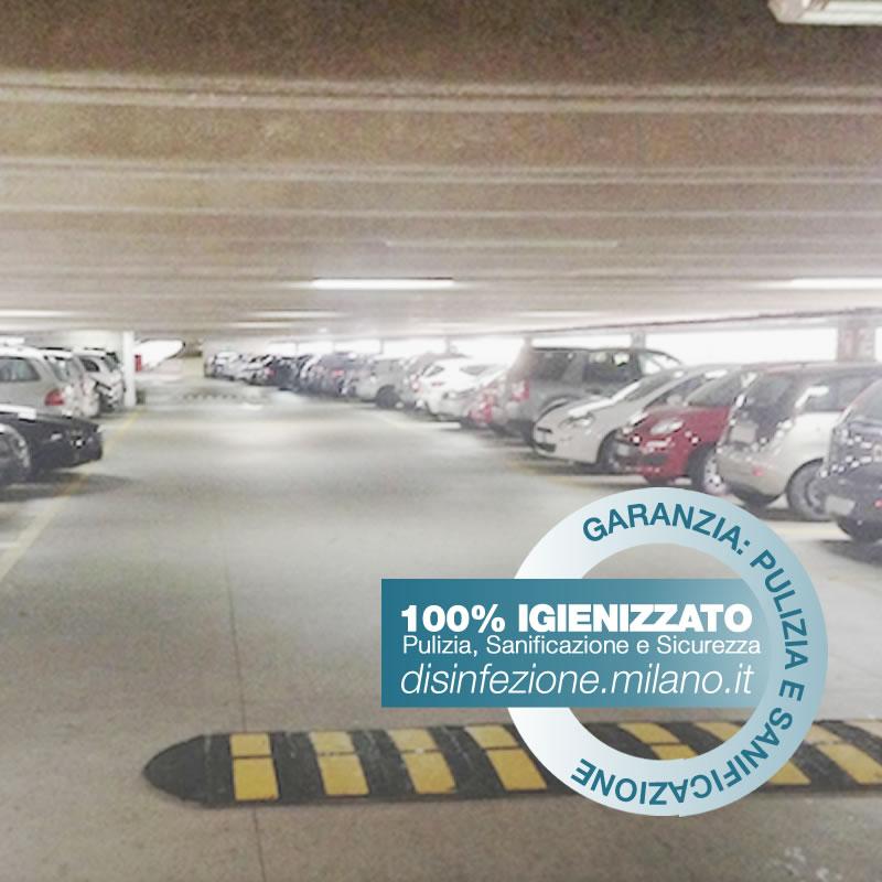 Igienizzazione e Sanificazione  AUTOSILOS E GARAGE Gallaratese Milano