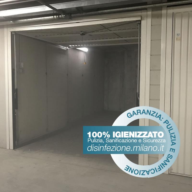 Igienizzazione ed Igienizzazione  BOX AUTO Conciliazione Milano