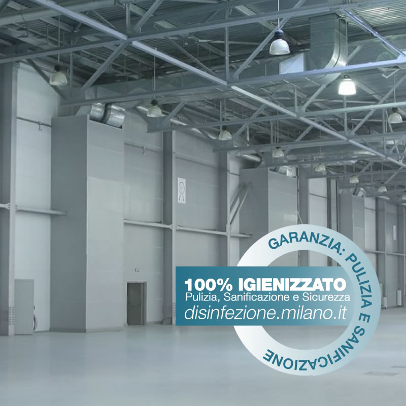 SANIFICAZIONE Igienizzazione ed Igienizzazione  CAPANNONI Cermenate Milano