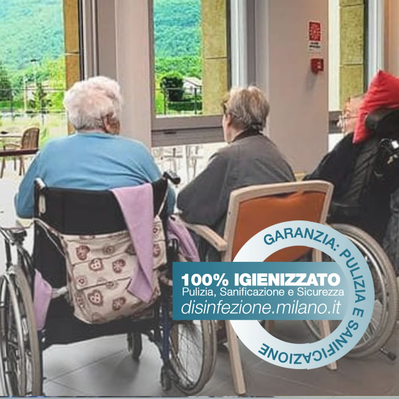 case di cura igienizzazione da coronavirus Cermenate Milano