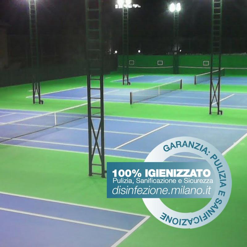 Disinfezione, Igienizzazione e Sanificazione Centro Sportivo Gallaratese Milano