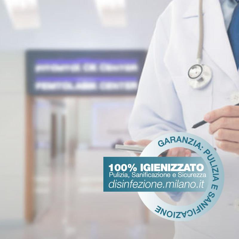 Sanificazione, Igienizzazione ed Igienizzazione  Cliniche Private Conciliazione Milano