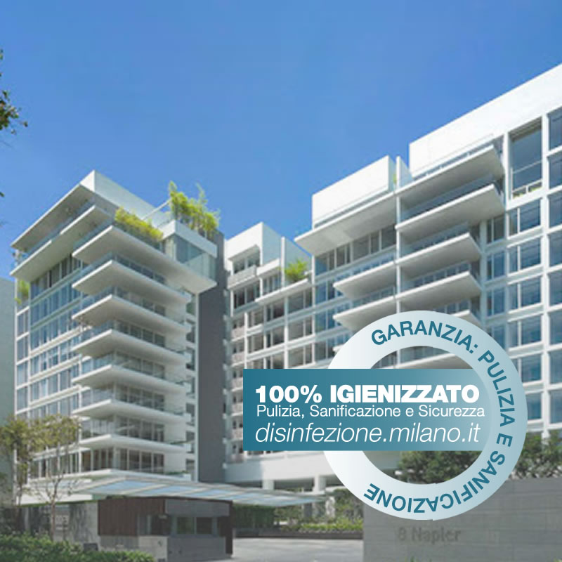 Sanificazione, Igienizzazione ed Igienizzazione  Consominio Conciliazione Milano