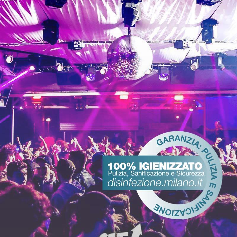 Sanificazione, Igienizzazione ed Igienizzazione   Discoteca Cermenate Milano