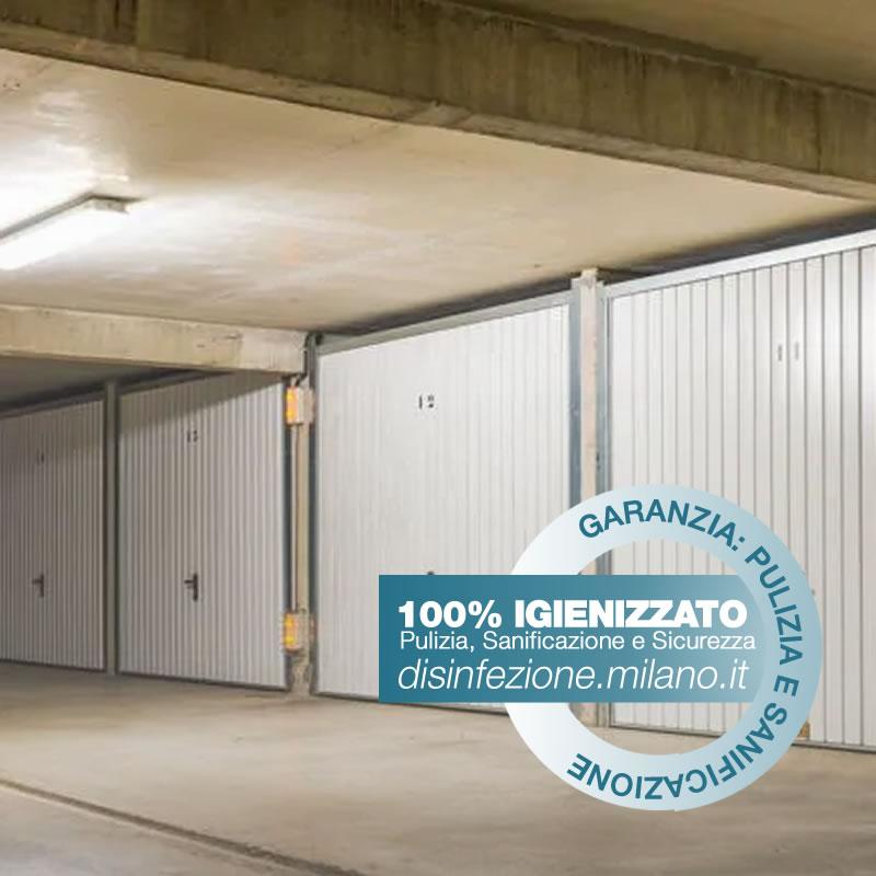 Sanificazione, Igienizzazione ed Igienizzazione  GARAGE Conciliazione Milano