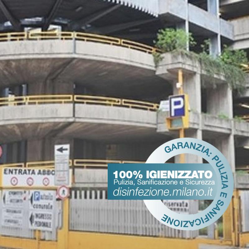 Disinfezione, Igienizzazione e Sanificazione parcheggi Gallaratese Milano