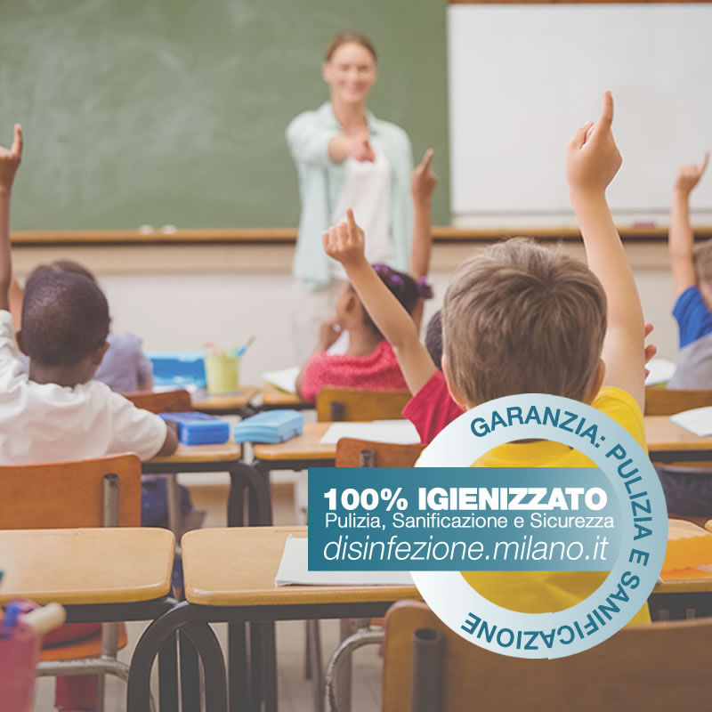 Sanificazione, Igienizzazione ed Igienizzazione  scuole paritarie e studi Cermenate Milano