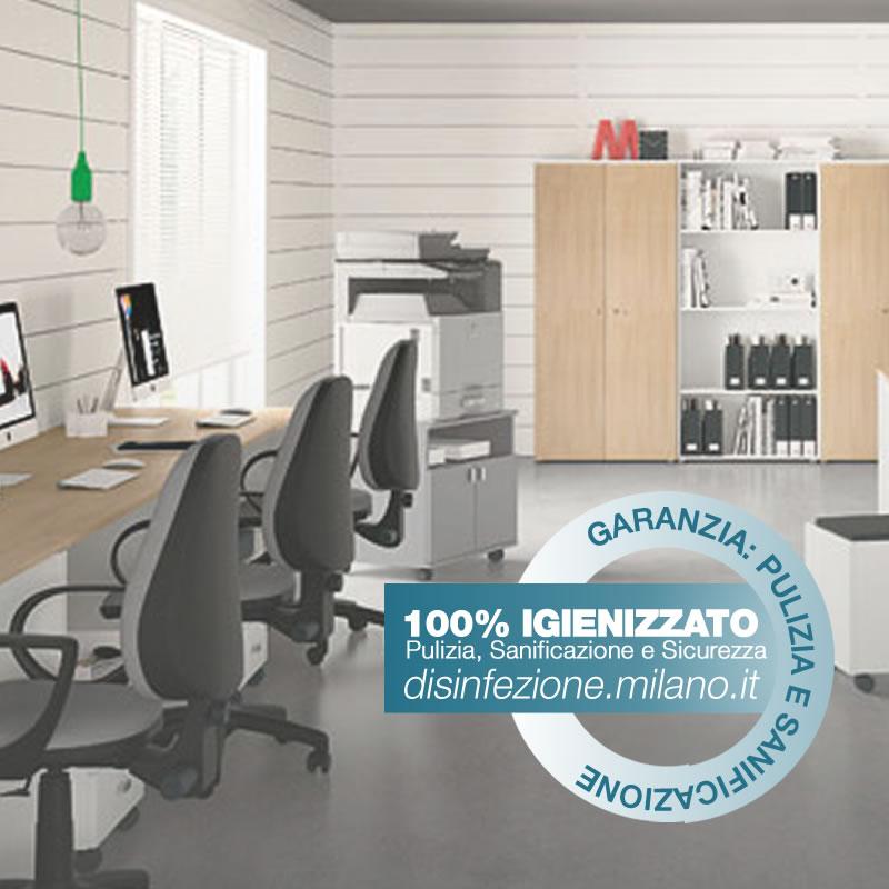 Disinfezione, Igienizzazione e Sanificazione  uffici Gallaratese Milano